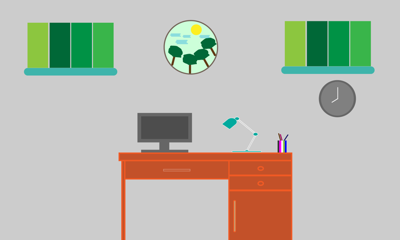 Design Flat Desktop | Illustrator tutorial