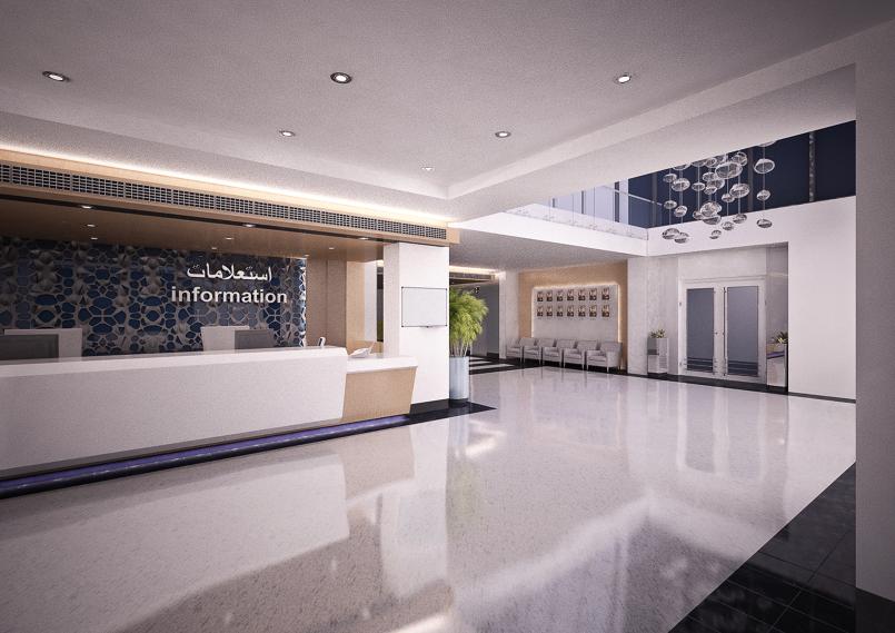 AF hospital entrance