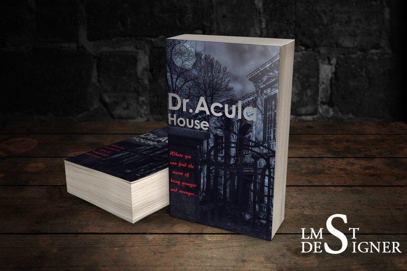 غلاف رواية منزل د. اكولا