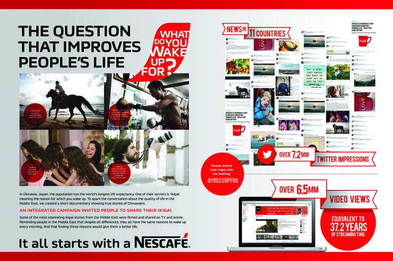 Nescafe - What do you wake up for?