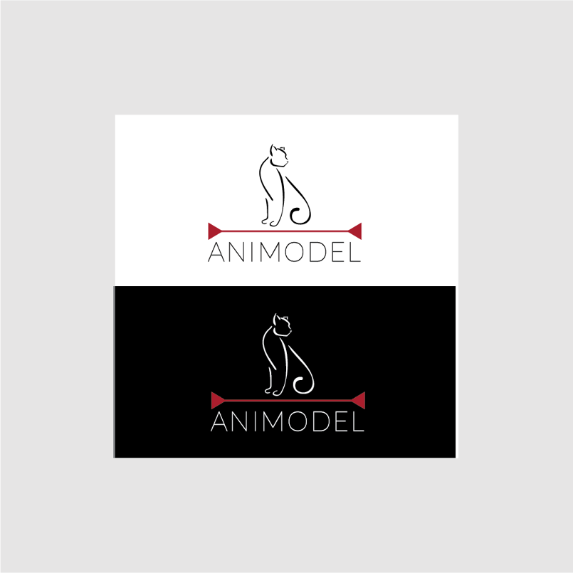 Animal Modelling Agency Logo Design