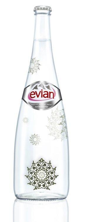 تصميم عبوة مياه إفيان