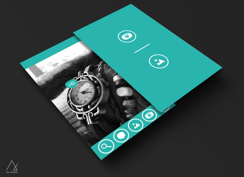 PenPix Android Application UI Design