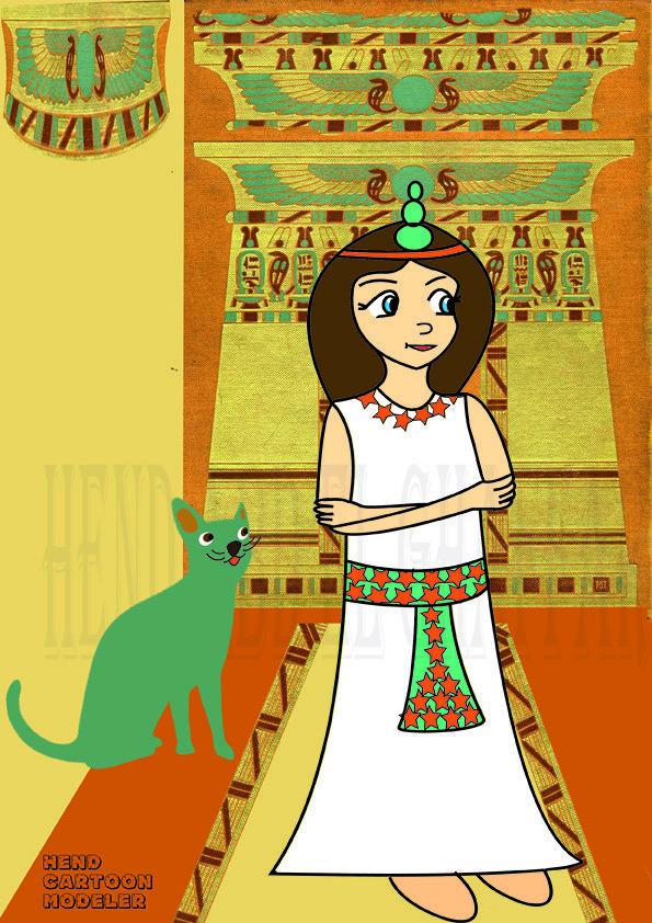 فتاه فرعونيه