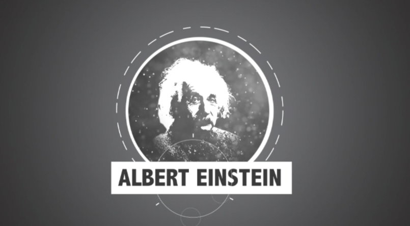 Albert Einstein 2D Animation
