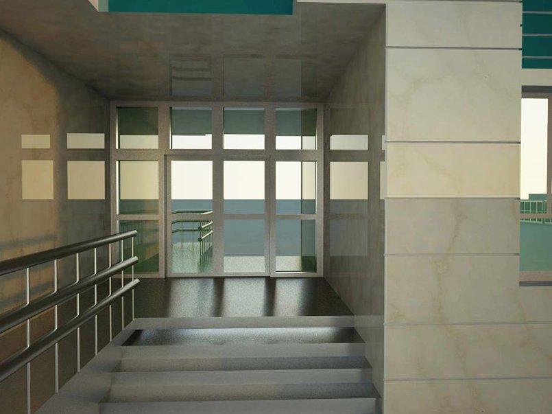 مدخل مستشفى