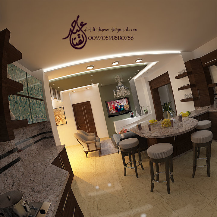 Interior Design of ِa Residential Apartment Ramallah