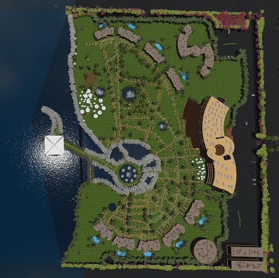 مشروع قريه سياحية