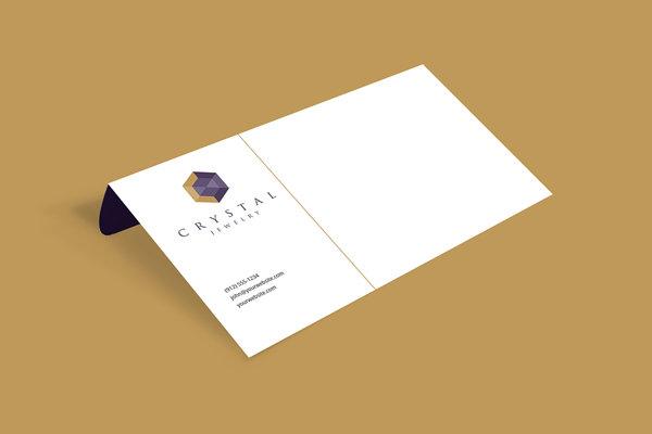 CRYSTAL_Jewelry // Branding