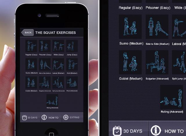 30 Days Squat Application (Pro)