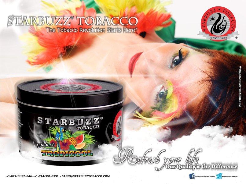StarBuzz Tobacco Tropicool Poster