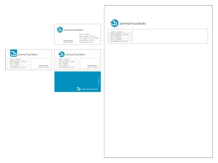 Jammal Trust Bank - Rebranding Proposal