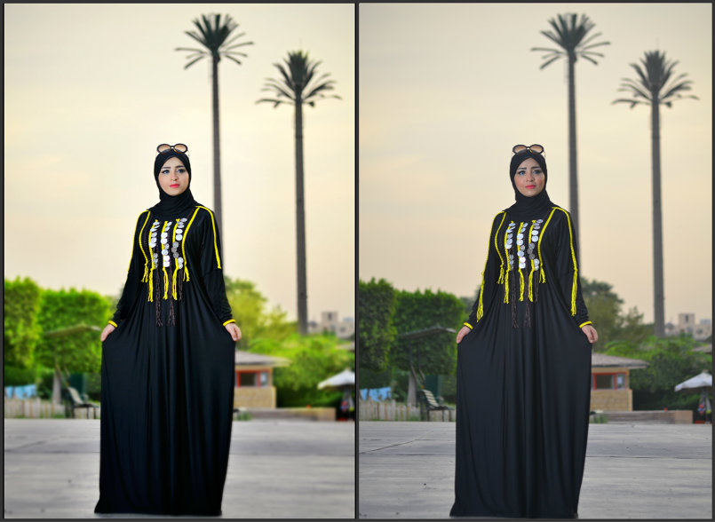 SHOOTING AND BEFOR AND AFTER EDIT