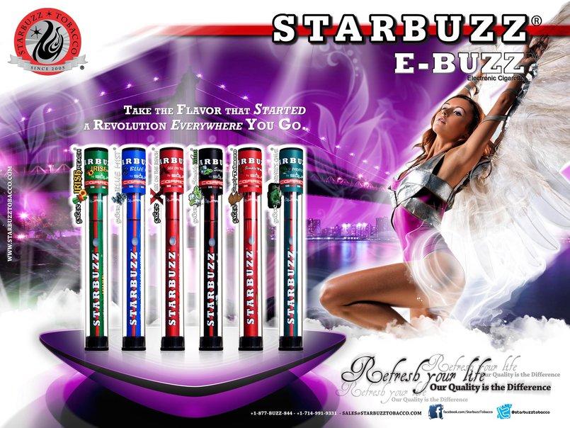4 - StarBuzz E-Buzz Poster