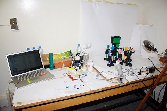 Making an animation, 2010