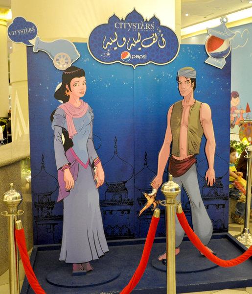 Arabian nights characters - Pepsi AD campaign