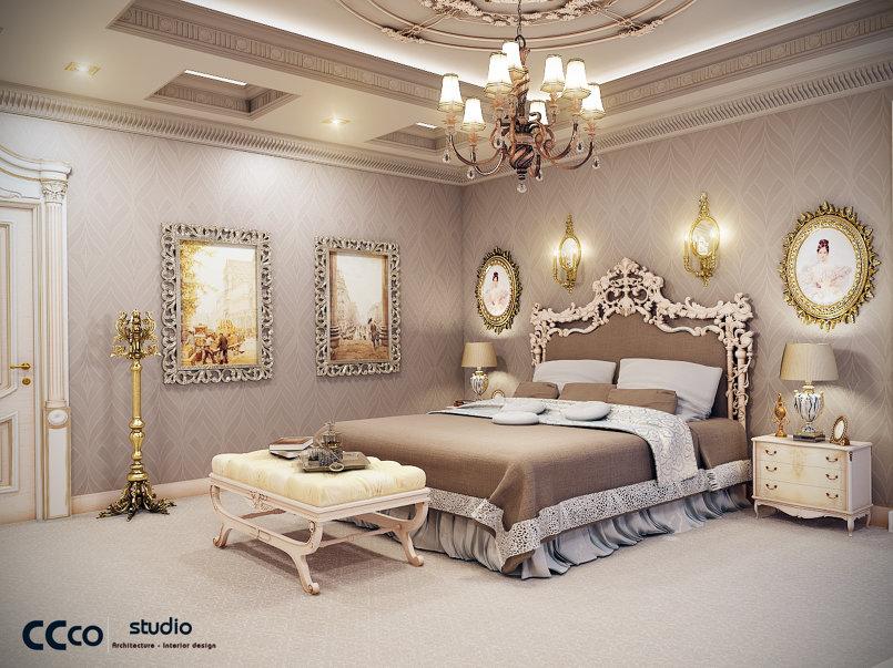 غرفه نوم كلاسيك