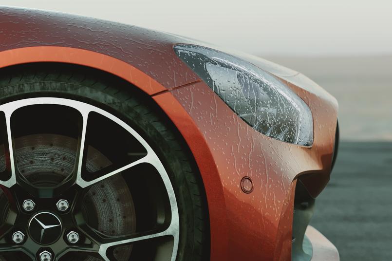 Mercedes Benz-AMG GT-R/CGI