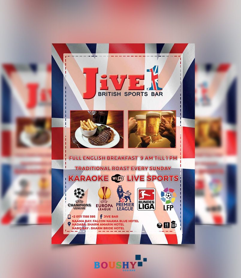 Jive 1 Bar Flyer