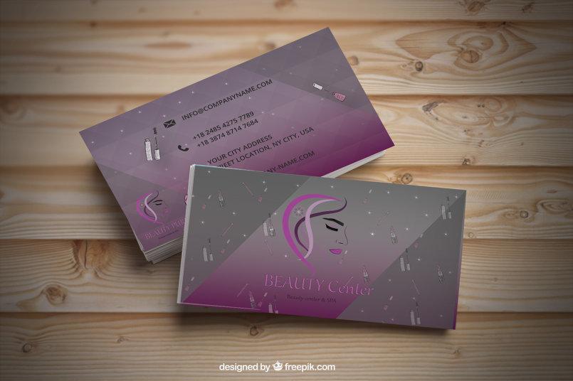 Beauty center logo&Business card