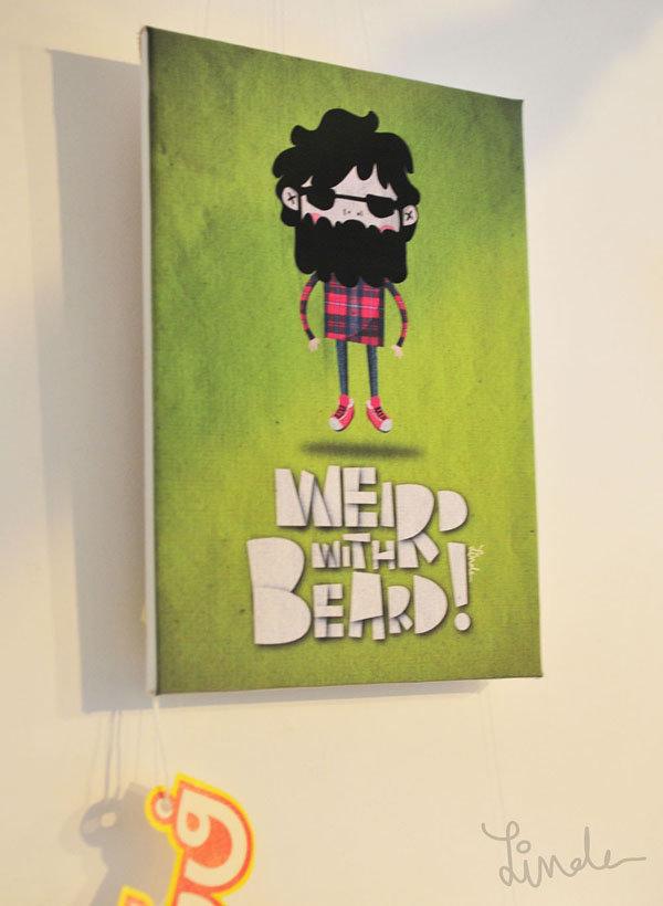 weird with beard