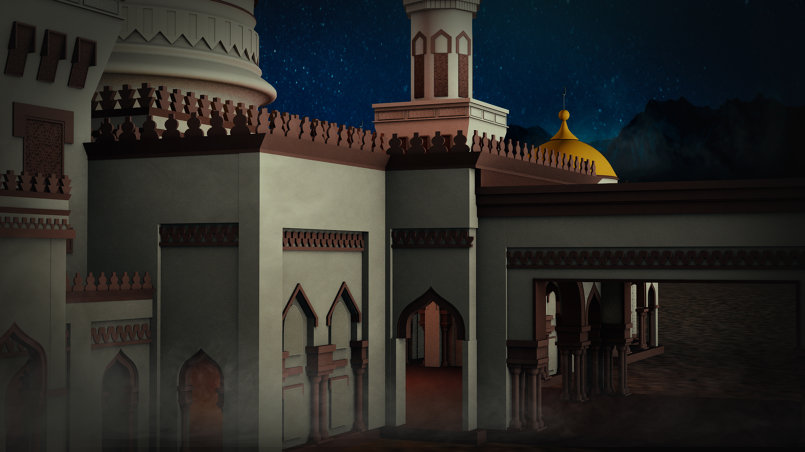 Ramadan Wish GFX/VFX compositing Work Stills.