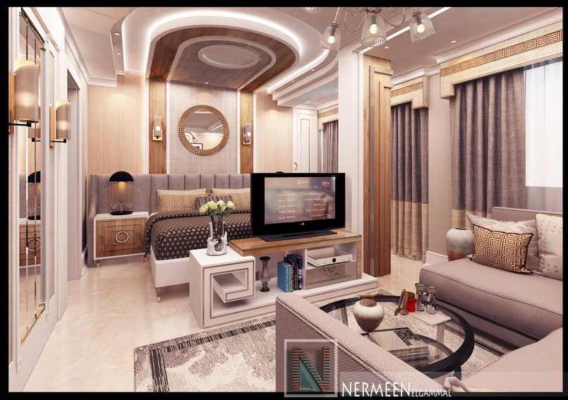 تصميم غرفة نوم مودرن