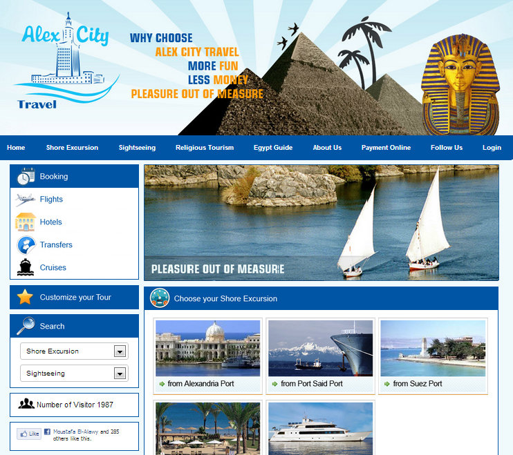 Alex City Travel Website