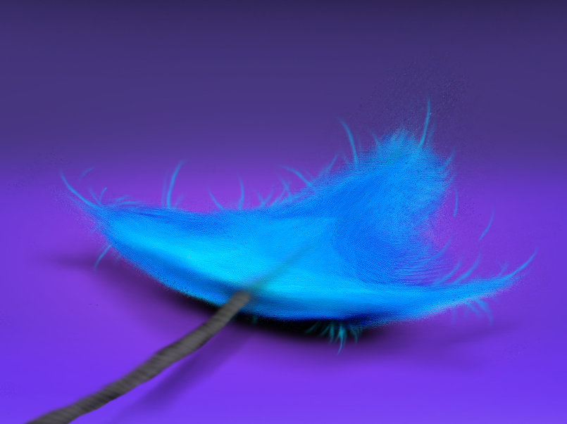 Feather #Digital #Paint