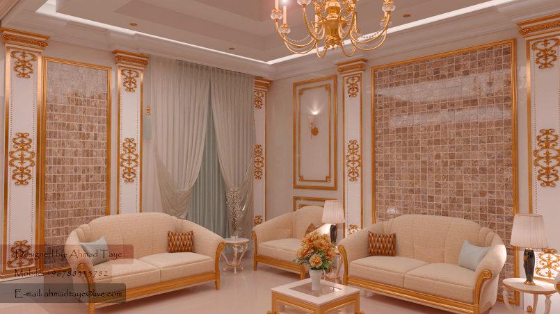 مشروع تصميم فيلا في منطقة الخور - دبي