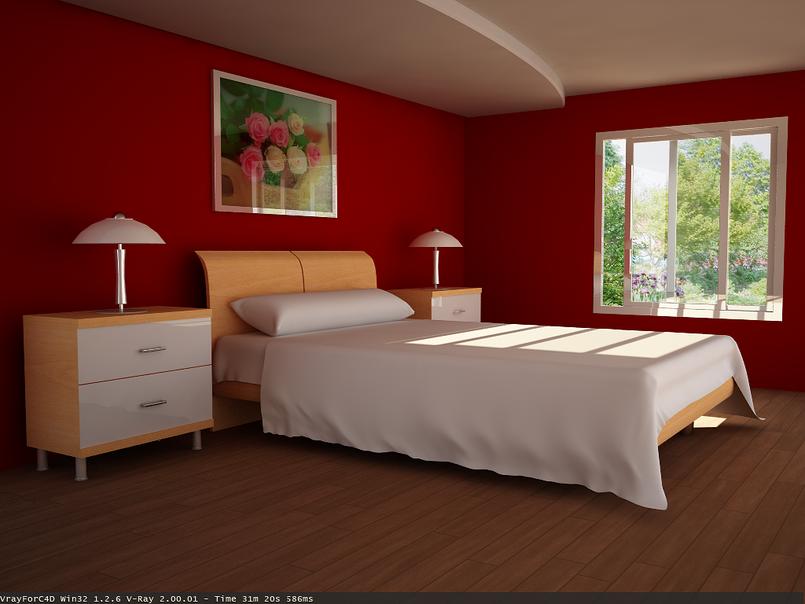 غرفة نوم