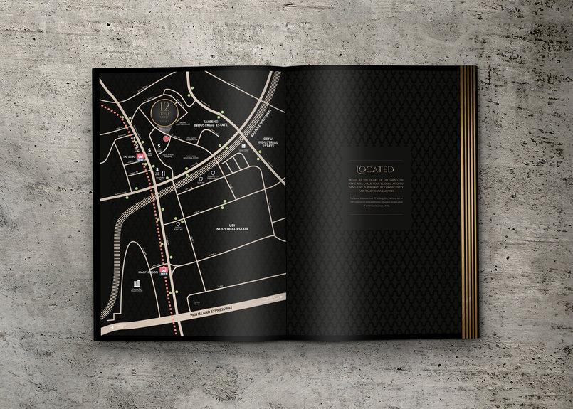 Luxury Real Estate Brochure Design Concept - By Balazs Bota