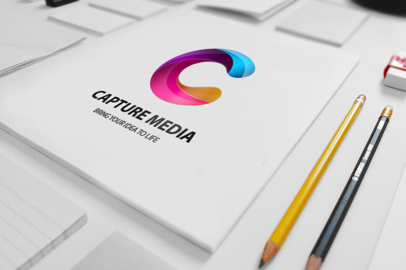 Capture Media Logo