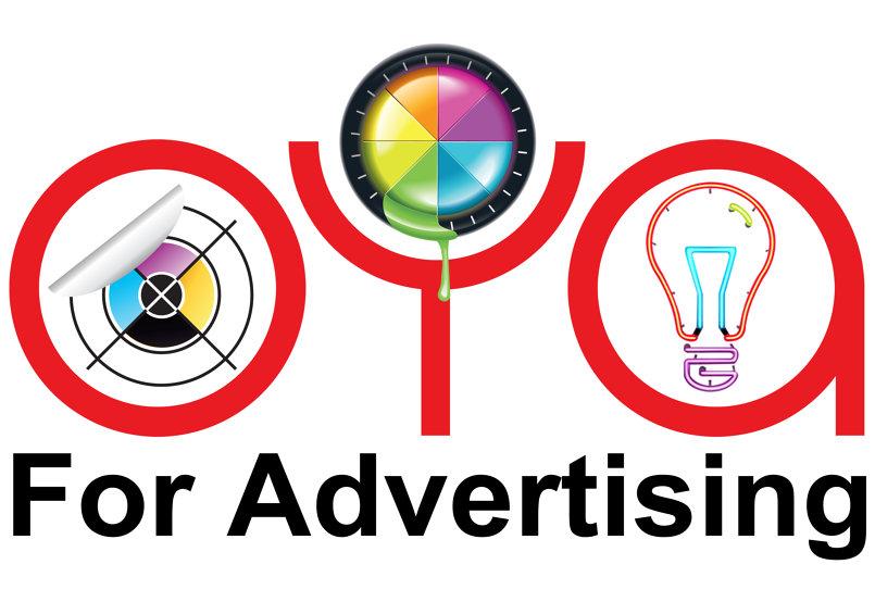 لوجو شركة اويا للدعاية والاعلان OYA for advertising