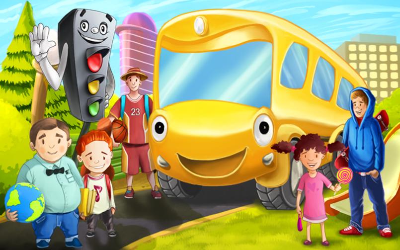 تصميم قصص أطفال