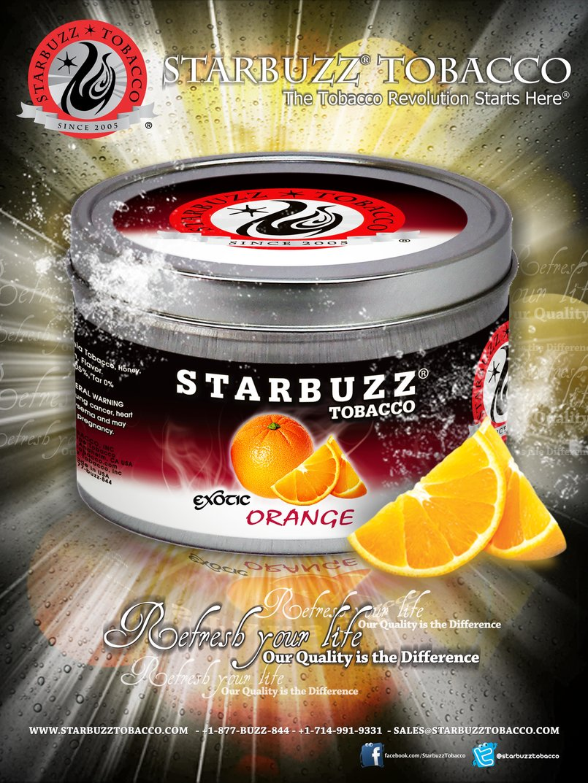165 StarBuzz Poster Orange