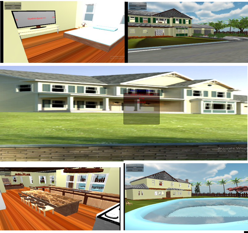 home simulation