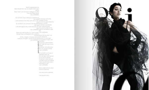 Editorial design and fasion photography