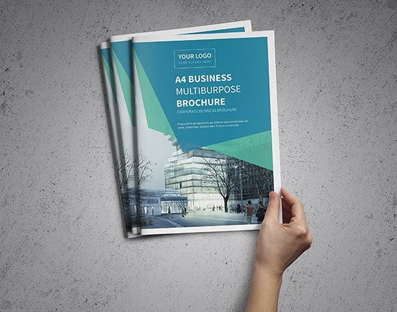 New A4 Corporate Business Brochure