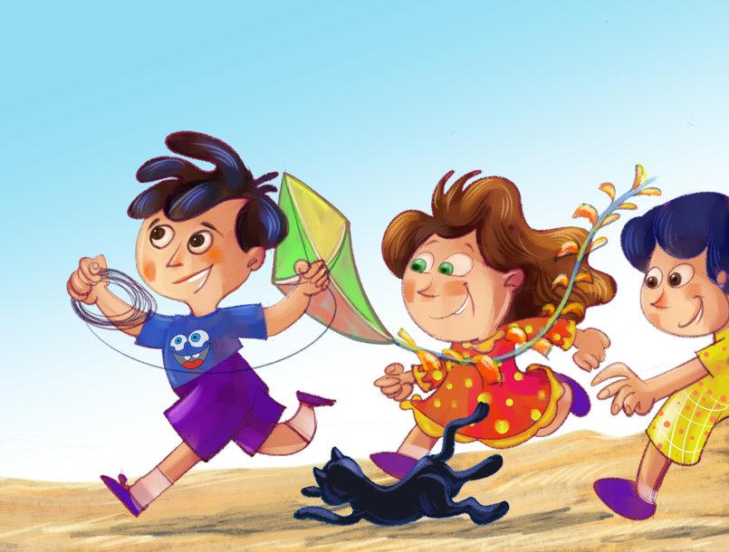 رسوم كتب وقصص أطفال منوعة 2