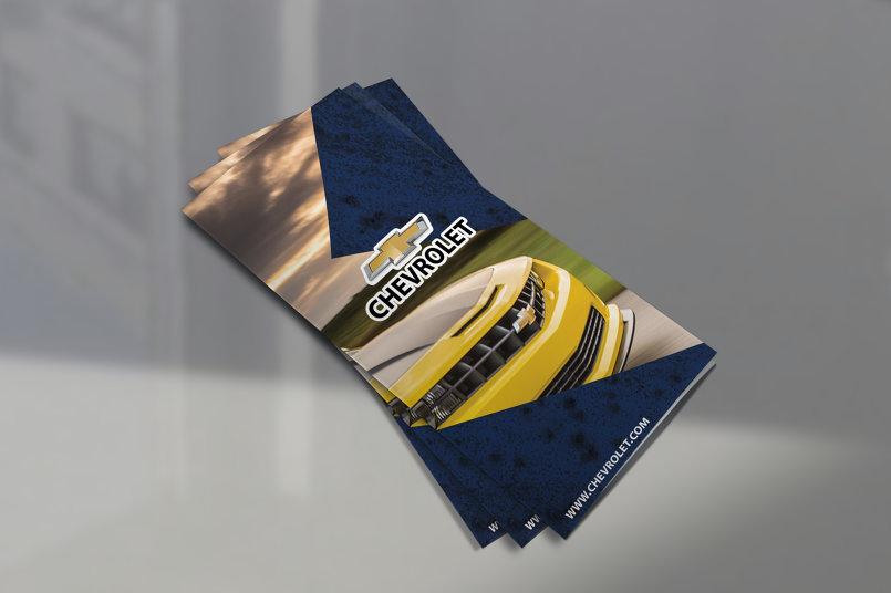 Simple Brochure for chevrolet