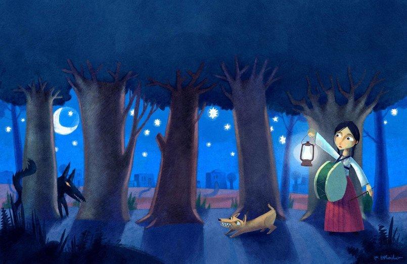 اللوحة الأولى من كتاب ( ما المانع ؟ ) لدار السلوى . من تأليف الكاتبة المبدعة تغريد النجار . كتاب ما المانع من الكتب المرشحة لجائزة الإتصالات 2013 عن فئة أفضل رسوم . اللوحة تخيل لقرية لفتا قضاء القدس , جبل المشارف و وادي الجوز , و هي من القرى الفلسطينية المهجرة .