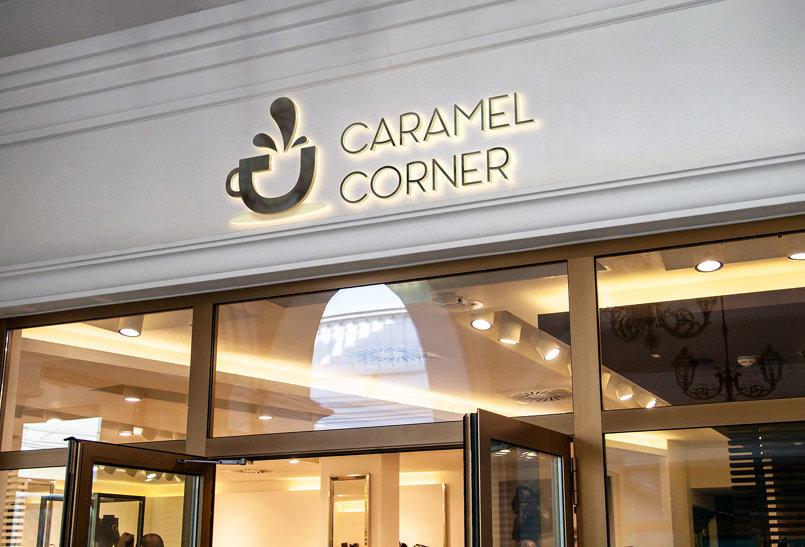 Logo caramel corner