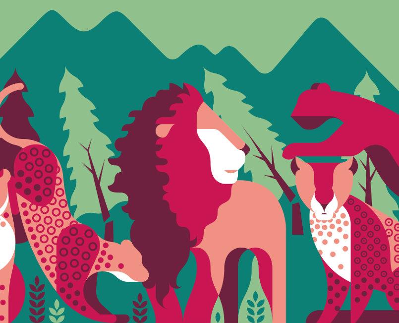 البطاقة الخاصة باليوم العالمي للحياة البرية للعام 2018