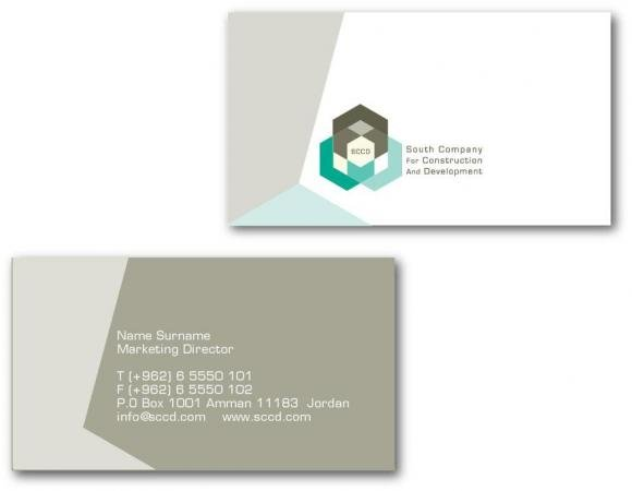 SCC logo design and stationery