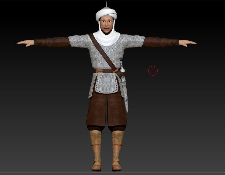 arabic 3D character modeler