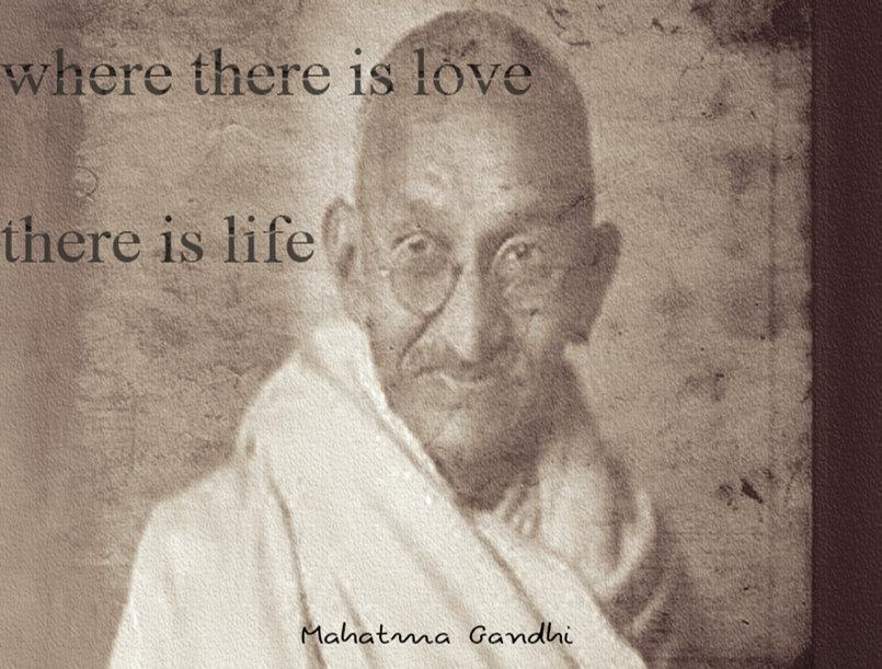 مقولة غاندي 2