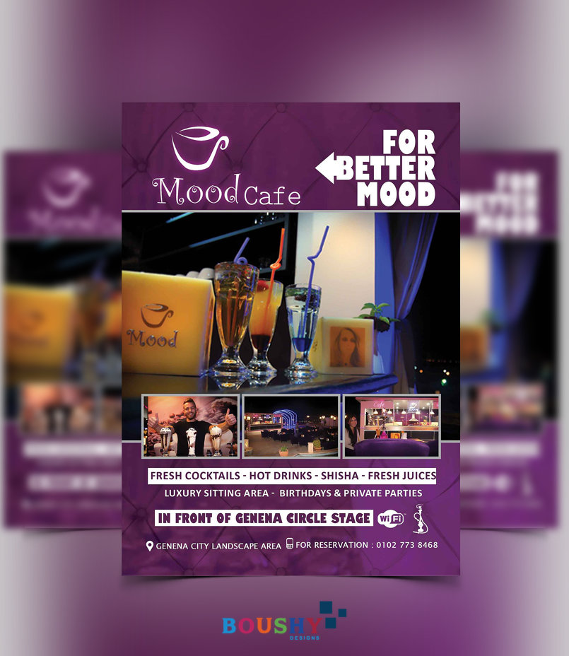 Mood Cafe Flyer
