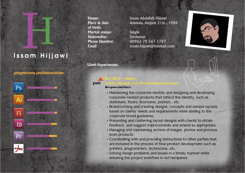 Issam Hijjawi 2012 CV