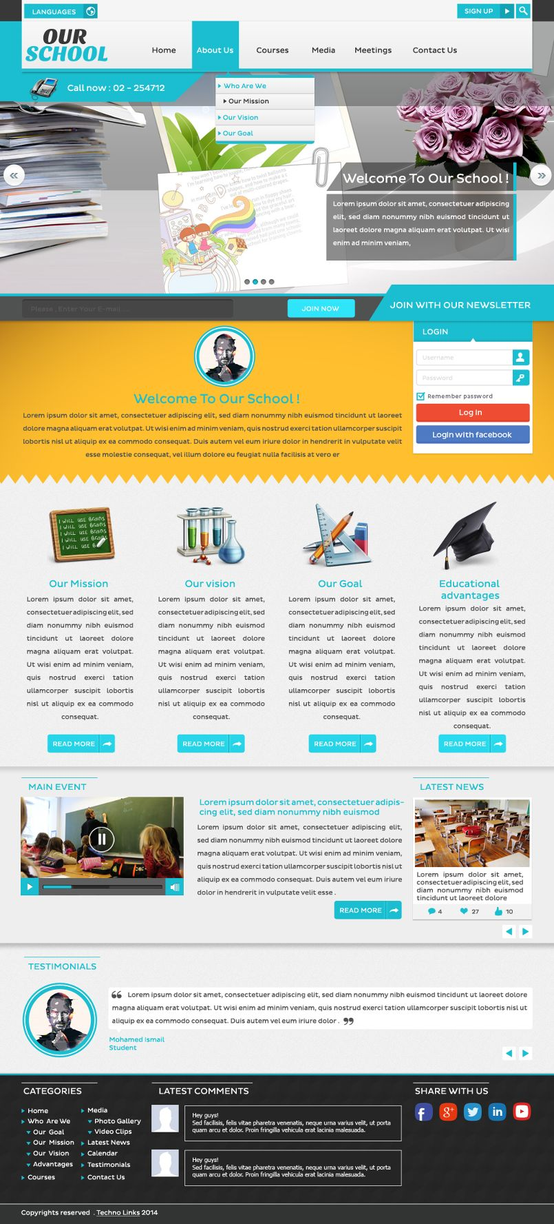 Educational web project